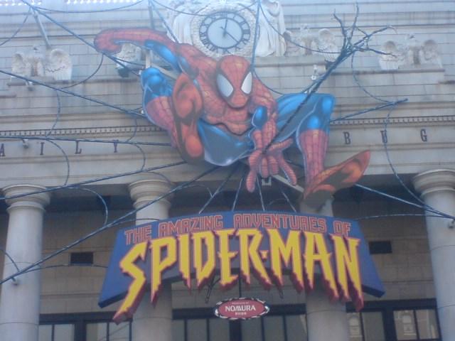 スパイダーマンに恋をして…